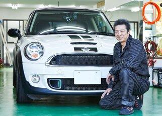 千葉県松戸市のガラスコーティング専門店リュウフラップ/代表 富井 龍男